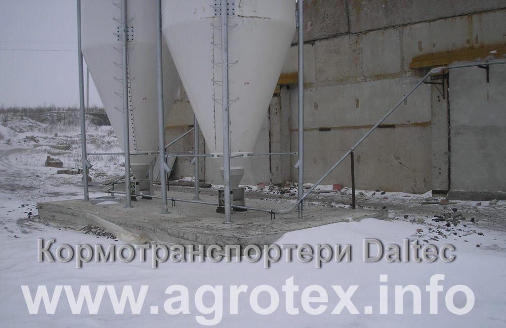 Кормолінії Daltec для сухих кормів