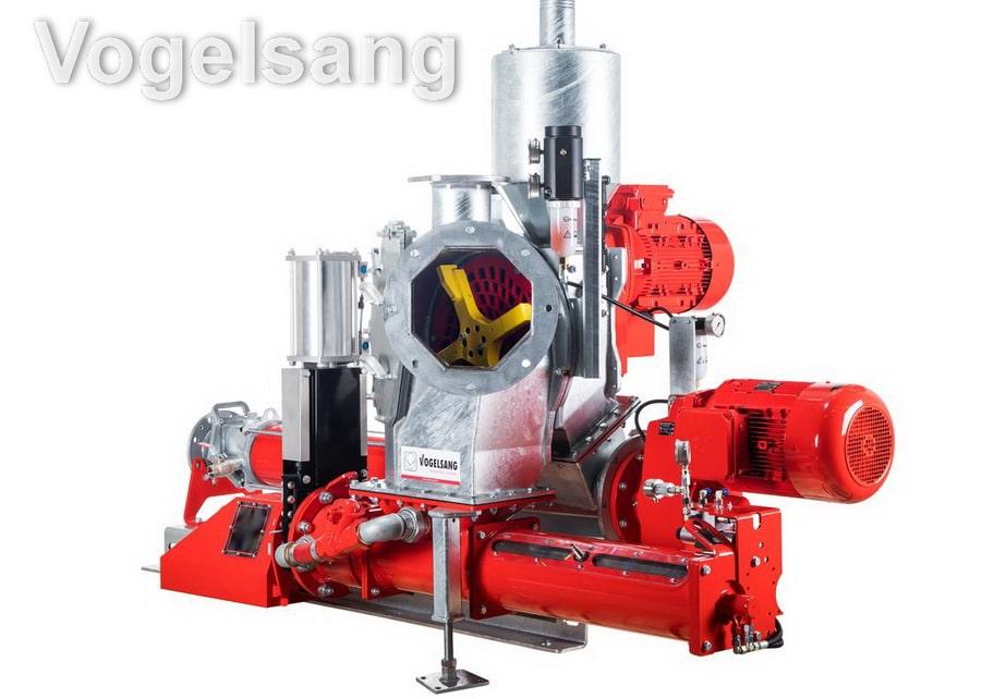Агрегат для проточного подрібнення