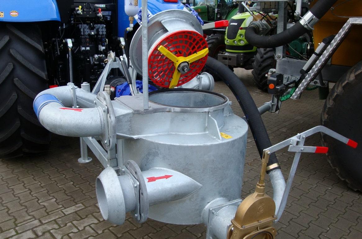 Подрібнювач RotaCut для засмічень соломою