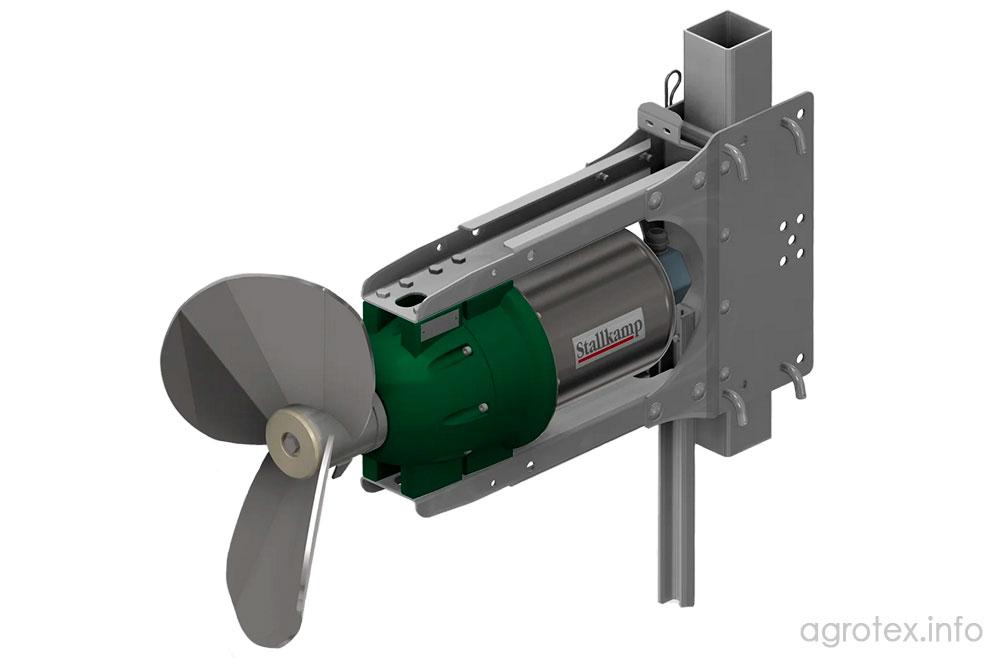 Занурювальний міксер (змішувач) для гною TMP-075 - технічні характеристики, призначення, особливості, ціна