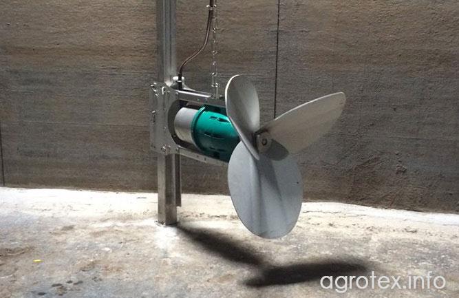 Встановлення міксеру здійснюється на спеціальній стаціонарно встановленній оснастці із нержавіючої сталі