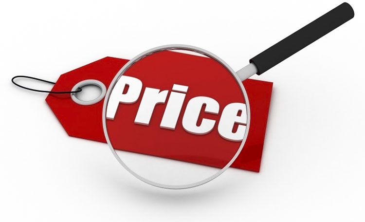 Ціни на обладнання та послуги